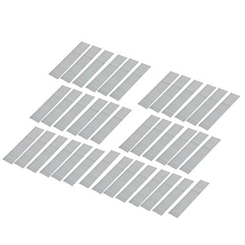 sourcing map 3534stk. Brad Nagel Eisenverzinkt für F25 Hefter Nailer Silber Ton 112mm Länge de