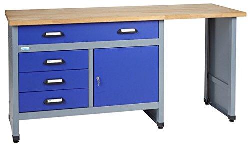 Preisvergleich Produktbild Küpper Werkbank Modell 12037, Breite 170 cm Farbe ultramarinblau