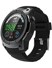 Reloj inteligente S958, para hombres, de aleación, con Bluetooth, apoyo GPS,