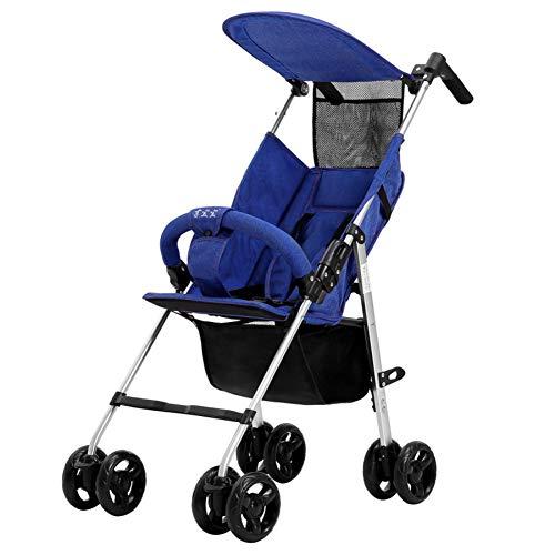 Tragbare Kinderwagen & Kinderwagen Folding Lightweight Baby Stroller - Kleinste Kompakte Kinderwagen Airplane Travel, Kompakte Lagerung, Easy 1 Hand Fold,a (Stroller Double Bike)