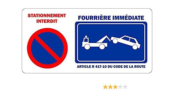 Panneau parking rserv interesting best panneau routier for Panneau stationnement interdit devant garage