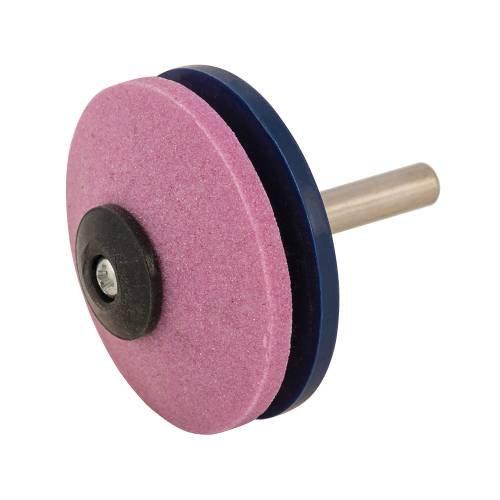 Silverline 270952 Affuteuse de faucheuses rotatives et outils 50 mm, Rouge