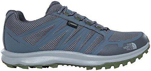 The North Face Litewave Fastpack Gore-Tex, Chaussures de Randonnée Basses Homme Gris (Zinc Grey/green)