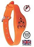 THEYE Anti-Mücken-Armband - verstellbar - leuchtet im Dunkeln - Orange