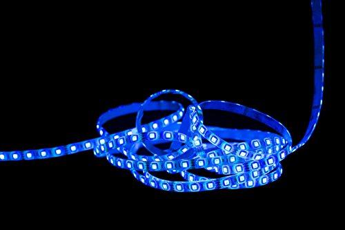 UV LED Lichtkette 5m IP65 wasserfest 5050 SMD Strip Streifen Schwarzlicht 12 V