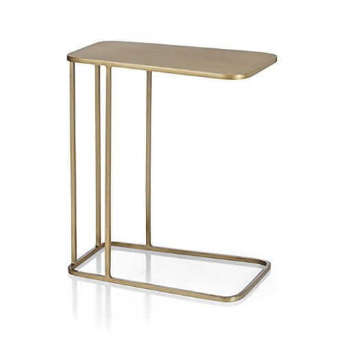cozyhome AA Mini Schmiedeeisen Couchtisch Nordic Beistelltisch Kleinen quadratischen Tisch 50 * 30 *...