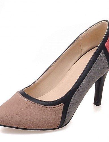 Moda Donna Sandali Sexy donna tacchi Primavera / Estate / Autunno / Inverno tacchi / pompa di base / Comfort / ToeSyntheticMaterialsUpperOccasion appuntita Pink