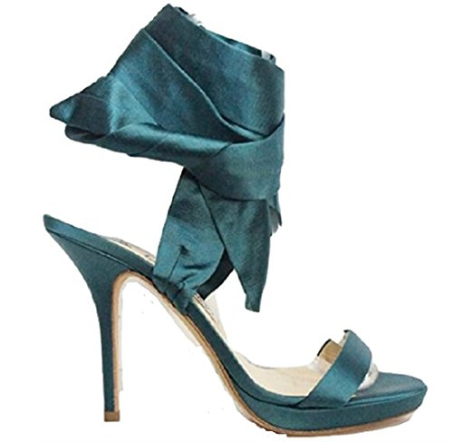 Jimmy Choo  Teal Green, Damen Pumps Grün Teal Green 41 (7.5 UK)