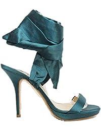 Jimmy Choo Teal Green - Zapatos de vestir para mujer verde Teal Green 41 (7.5 UK)