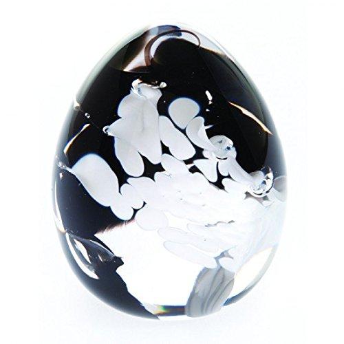 """Caithness-Fermacarte in vetro, motivo: """"Gala, monocromo"""", colore: multicolore"""