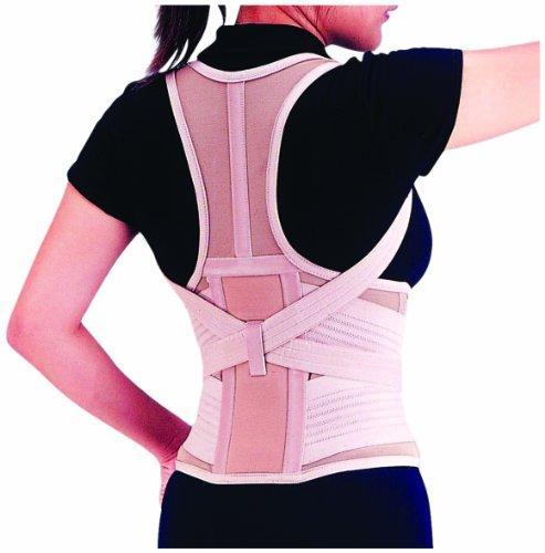 Dynamix Ortho - Soporte para mantener la espalda recta y reducir el dolor lumbar, talla M (66-81 cm)