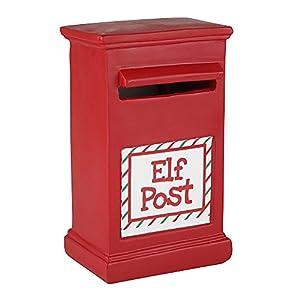 eBuyGB 1318505Elfos en estantes 24Tarjetas de Navidad calcetín de Juguete (Post-Box y Informe)