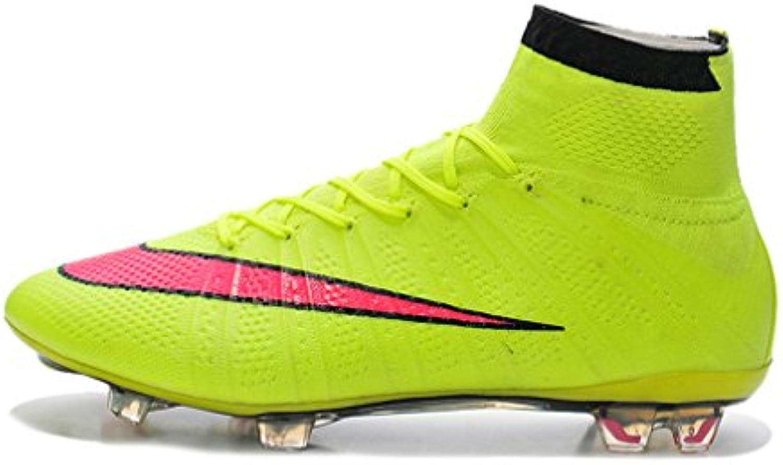 yurmery Schuhe Herren mercurialx Proximo Street Fussball Indoor silber Fußball Stiefel