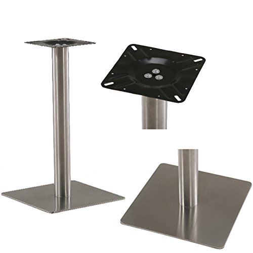 Tischplatte Tischfuß (Untergestell Edelstahl Tischgestell Design Tischfuß Metallgestell Tischplatte)