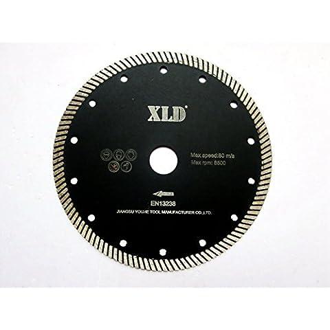 XLD Turbo onda diamante la lama per sega, ampiamente uso