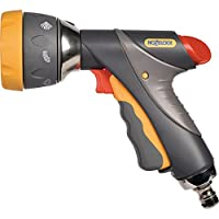 Hozelock Multi Spray Pro Gun, Grey/Yellow, 16x10x8 cm