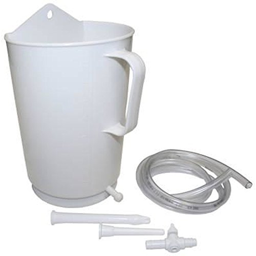 Irrigator 2 Liter – Set mit Becher, Schlauch, Mutterrohr und Klistierrohr um Einläufe zu Hause selber zu machen