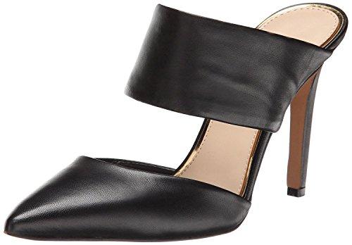 uBeauty Damen Stiletto Slingback Spangen Übergröße Pumps Spitze Zehen Slip On Sandalen Neue Sexy Schuhe Schwarz Pu