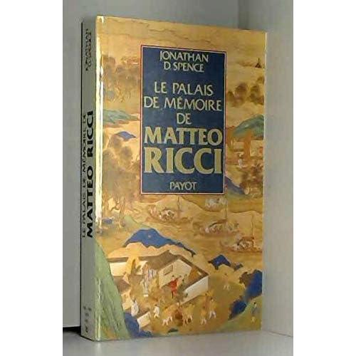 Le Palais de mémoire de Matteo Ricci