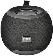 Pebble Dome Heavy Bass 5W True Wireless (TWS) Bluetooth Speaker (Black)