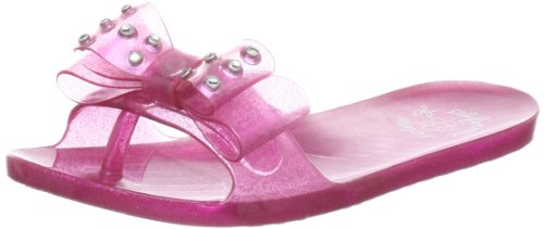 Art&Crafts Hc.ckjuly, Chaussons fille Rose - Pink (Fux)