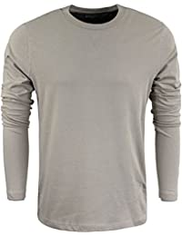 Mens Long Sleeved Top Designer by Brave Soul Cotton Summer Casual S-XL