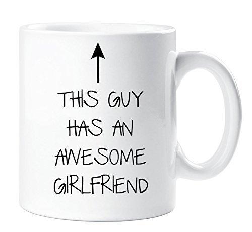 This guy ha un bellissimo ragazza mug fidanzato regalo natale compleanno san valentino anniversario