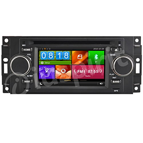 GPS DVD USB SD Bluetooth autoradio navigatore Jeep Compass Jeep Commander Jeep Grand Cherokee Jeep Wrangler Chrysler 300