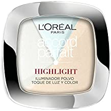 L'Óreal Paris Accord Perfect Polvo, Iluminador, 301 Icy Glow - 1 Iluminador
