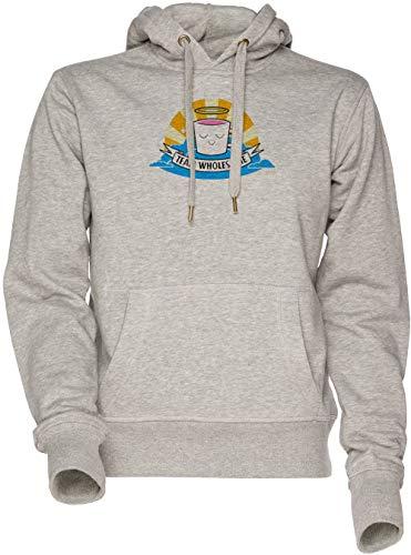 27267ea4a68e9 Vendax Team Wholesome - Drawfee Unisex Herren Damen Kapuzenpullover  Sweatshirt Grau Men's Women's Hoodie Grey