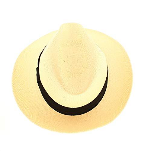 VotrechapeauCuenca -Sombrero Panamá paja tirolés