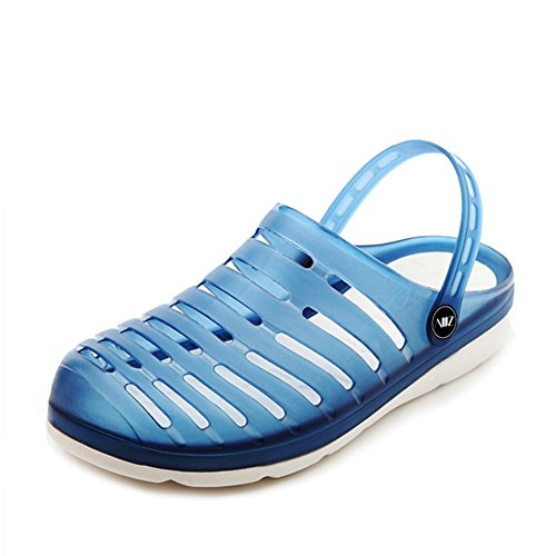 Sommer Schuhe Herren koreanischen Loch/Beach-Schuhe für Herren/dann Auftragnehmer Gelee Schuhe/Rutschfeste Hausschuhe B