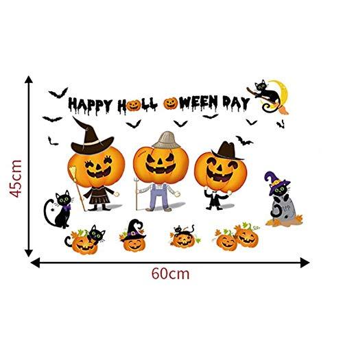 (Halloween Home Haushaltszimmer Wandaufkleber Wandbild Decor Aufkleber Removable New kid gif)