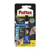 Pattex Sekundenkleber Ultra Gel, extra starker & flexibler Superkleber, stoß- & wasserresistentes Sekundenkleber...