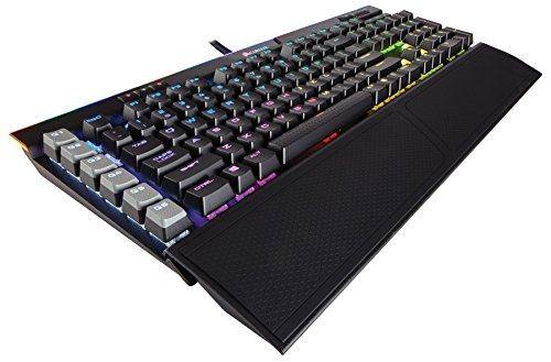 Corsair K95 RGB Platinum Tastiera Meccanica Gaming, Cherry MX Speed, Retroilluminato RGB Multicolore, Italiano QWERTY, Nero