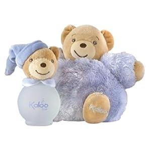 Kaloo -  Blue Estuche Maxi Fluffy/Fragancia para bebé, 100 ml (K893168)