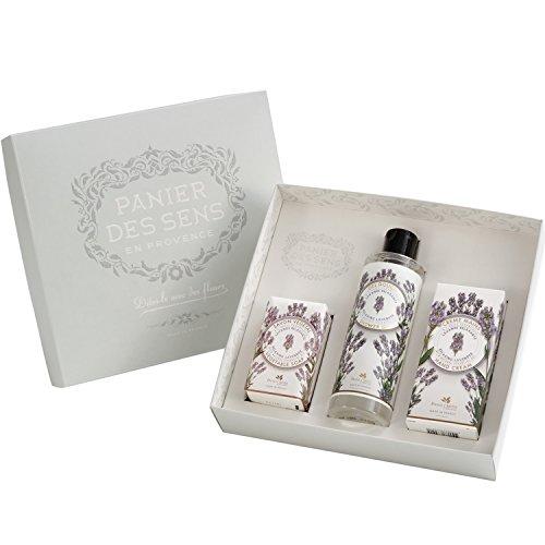 panier-des-sens-geschenkset-lavendel-seife-150gr-duschgel-250ml-handcreme-75ml-mit-echtem-lavendelol