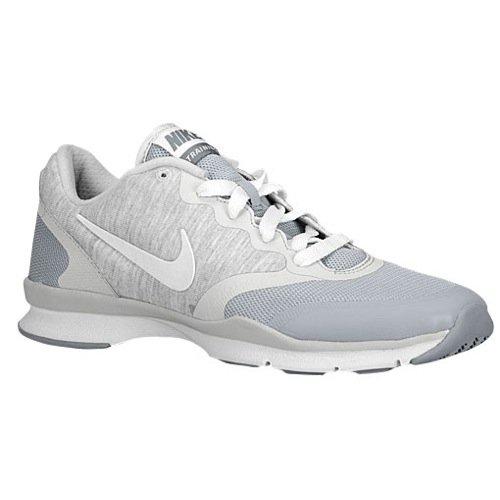 Nike Air Max 90 Cl (Nike Damen In Season TR 3Running Trainer 599553Sneakers Schuhe, Grau - WLF Gry/White/Pr Pltnm/Cl Gry - Größe: 39 EU)