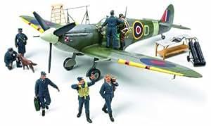 89730 1/48 Supermarine Spitfire Mk.Vb w/Royl AF Crw Fig (japan import)