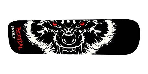 Bestial Wolf Board Tabellen, Schwarz/Rot/Weiß, Einheitsgröße