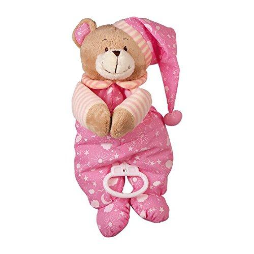 """Spieluhr\""""Nele\"""" zum Kuscheln und Einschlafen, der musikalische Teddy ist besonders weich und flauschig, als Einschlafhilfe oder Spielzeug, zum Aufhängen am Bettchen oder Kinderwagen"""