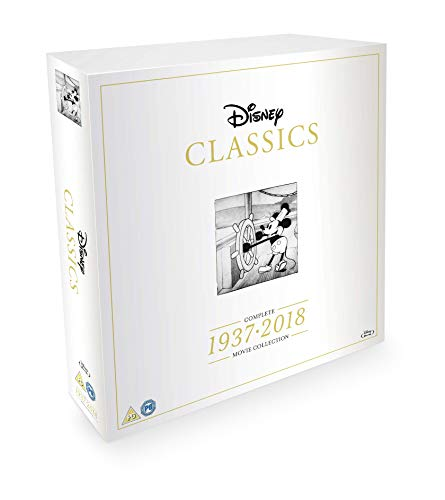 Disney Classics Complete Movie Box Set 1937-2018 [Blu-ray]