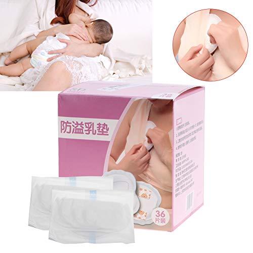 Saugfähigkeit Pads (Stilleinlagen, 36 Stück / 100 Stück Muttermilch-Pads, ultradünn, Einweg, auslaufsicher, atmungsaktiv, schnelle Saugfähigkeit, Milcheinlagen für Mütter)