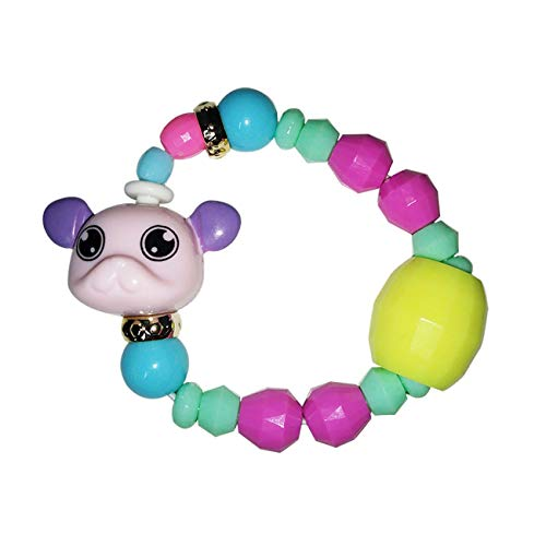 IY Magic Tricks Cute Animals Deformed Bracelet Girl Elasticity Stitching Magical Charm Bracelets & Bangles for Women Girls 1 18cm ()