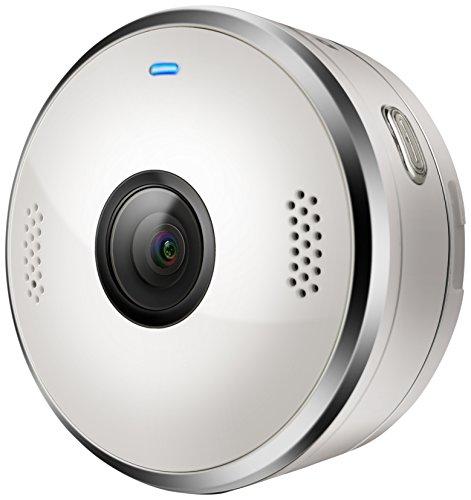 Motorola VerveCam+ | Wasserdichte Tragbare Live Stream Mini-Kamera für Social Media und Vlog | QHD 2.5K IP68 | Weiße (Live-stream Kamera)