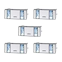 Compactor Life STYLE Vacuum Storage Tote White/Grey, XXL Pack of 5