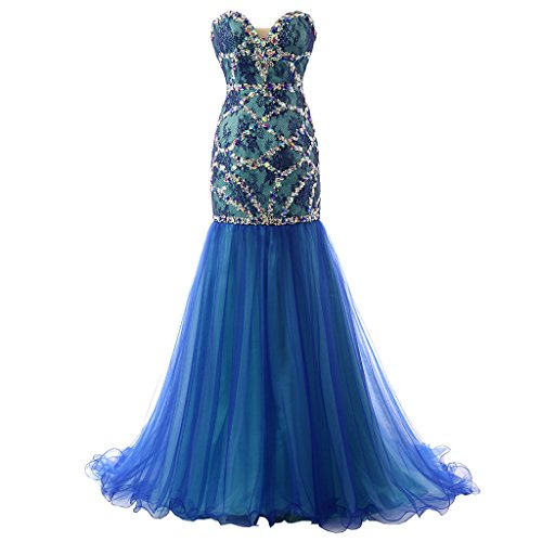 Fanmu - Robe - Femme Small Bleu - Bleu