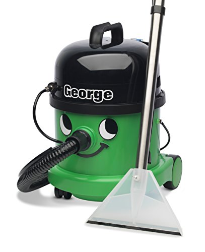 Numatic George GVE 370-2 Bagged Cylinder 3 in 1 Vacuum Cleaner, Green