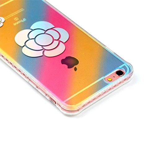 """Apple iPhone 6 Plus / 6S Plus 5.5"""" Hülle, SATURCASE Schönes Muster Überzug Ultra Dünn Weich TPU Gel Silikon Schützend Zurück Case Cover Tasche Schutzhülle Handyhülle für Apple iPhone 6 Plus / 6S Plus  Design-5"""