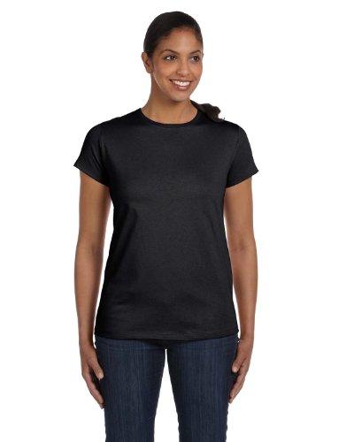 Hanes - T-shirt -  Femme noir